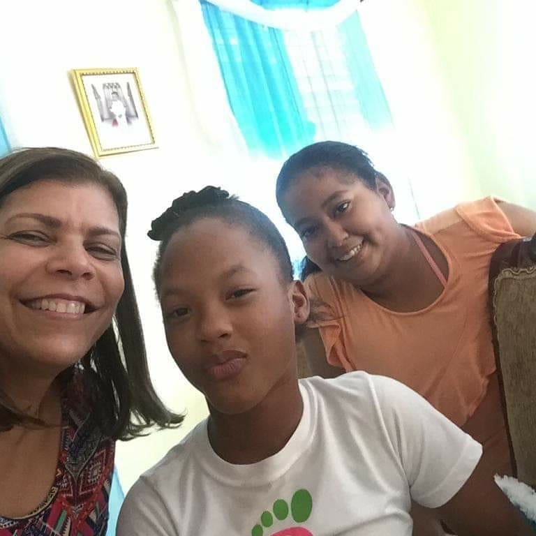 On the left Curator of the Orphanage in Dominican Republic